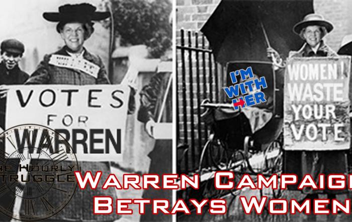 Warren Campaign Betrays Women Title Card