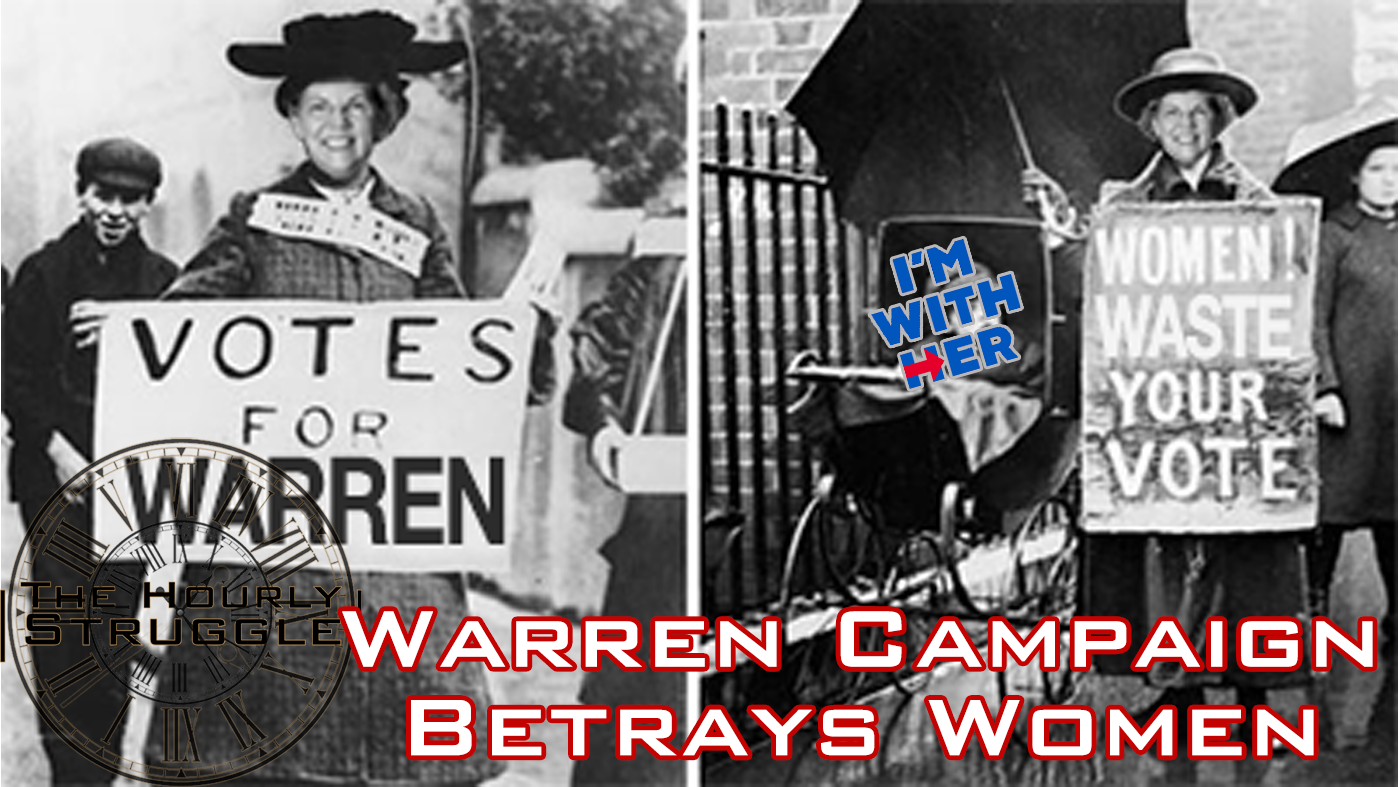 Warren Campaign Betrays Women Title Card